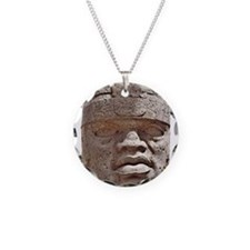 Olmec Head Necklace