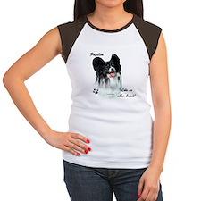 Papillon Breed Women's Cap Sleeve T-Shirt