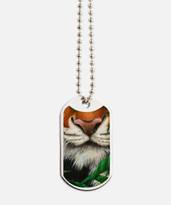 509-iTouch4 Generic Case (tiger nose) Dog Tags