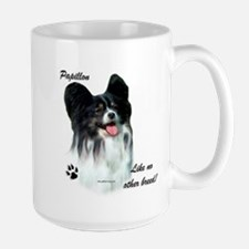 Papillon Breed Large Mug