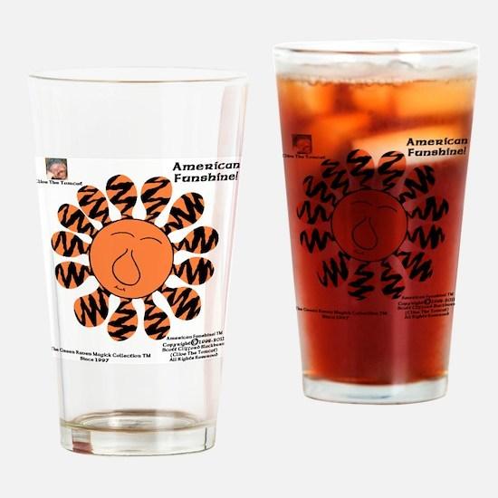 Pumpkin-Puss Zebrattica Majik Potio Drinking Glass