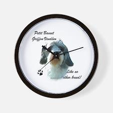 PBGV Breed Wall Clock