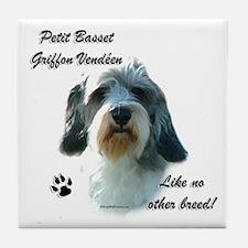 PBGV Breed Tile Coaster