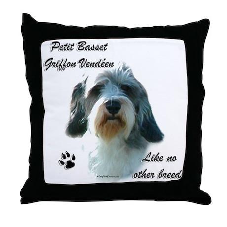 PBGV Breed Throw Pillow