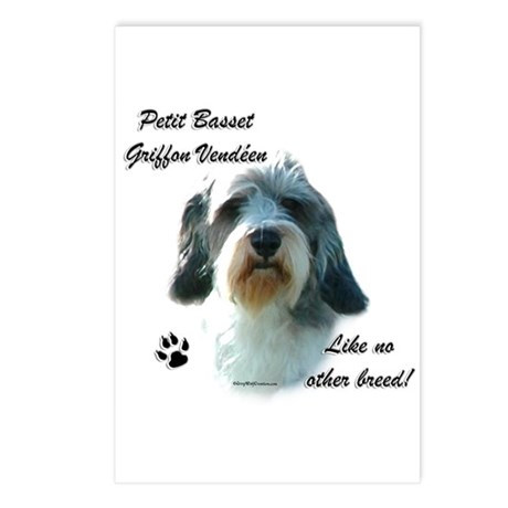 PBGV Breed Postcards (Package of 8)