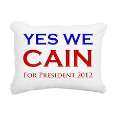 yeswecain4 Rectangular Canvas Pillow