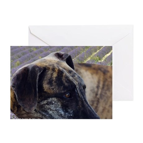 The Soul of a Sloughi Greeting Cards (Pk of 10