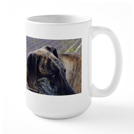 The Soul of a Sloughi Large Mug
