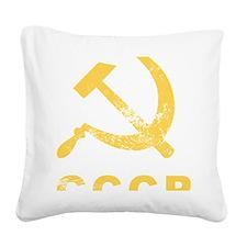 cccp Square Canvas Pillow