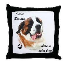 Saint Breed Throw Pillow