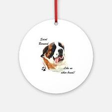 Saint Breed Ornament (Round)