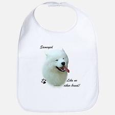 Samoyed Breed Bib
