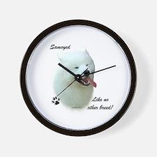 Samoyed Breed Wall Clock