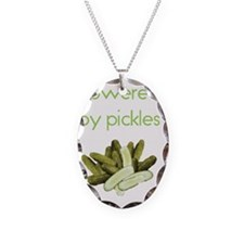 picklepower Necklace Oval Charm