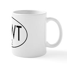 5x3oval_newt_2012 Mug