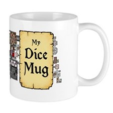 my dice  by billiam babble inked advent Mug