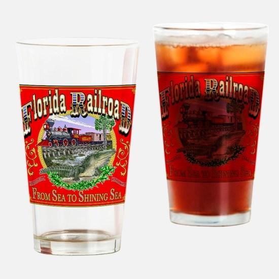 CP shirt FLARR art 110522 Drinking Glass