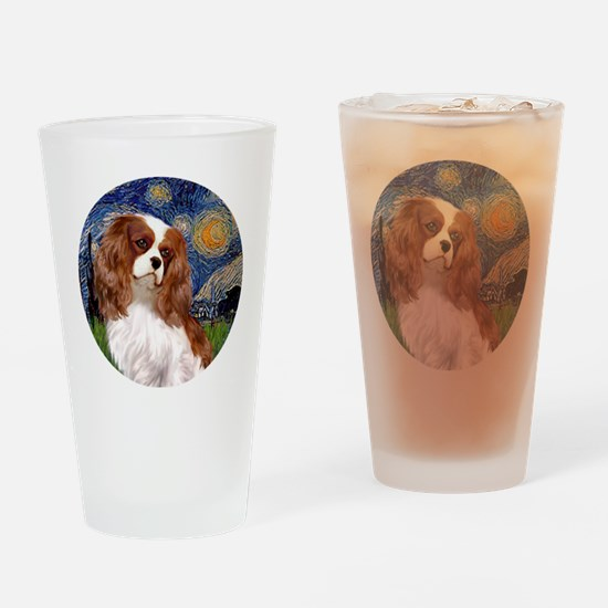 ORN-Cavalier2-StarryNight Drinking Glass