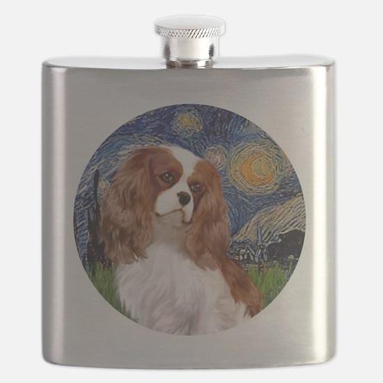 ORN-Cavalier2-StarryNight Flask