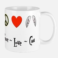 Peace-Love-Cas Mug