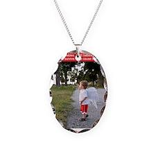 SaveTheCherubs-KellyShana-Holt Necklace Oval Charm