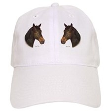 Bay Horse Mug Baseball Cap