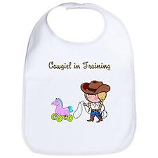 Cowgirl in Training Bib