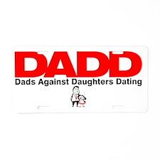 DADD Aluminum License Plate