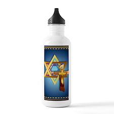 LargePosterStar Of Dav Water Bottle