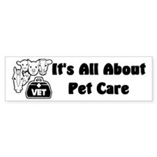 Veterinarian Bumper Bumper Sticker