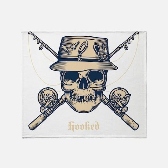 fisher-skull-DKT Throw Blanket