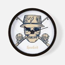 fisher-skull-DKT Wall Clock
