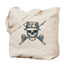 fisher-skull-DKT Tote Bag
