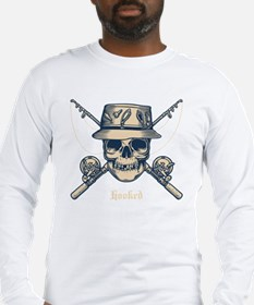 fisher-skull-DKT Long Sleeve T-Shirt