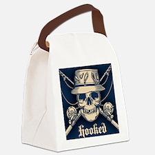 fisher-skull-OV Canvas Lunch Bag