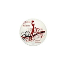 worth it midwives Mini Button