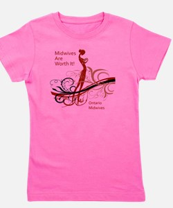 worth it midwives Girl's Tee