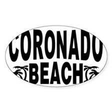 beach_coronado Decal