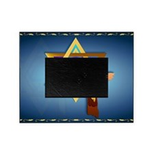 Star Of David and Triple Cross-Yards Picture Frame