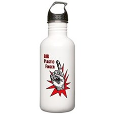bigplasticfinger_tshir Water Bottle