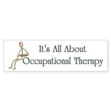Occupational Therapy Bumper Bumper Sticker