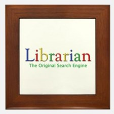 Librarian Framed Tile