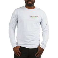 Librarian Long Sleeve T-Shirt