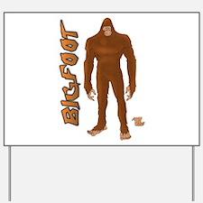 Bigfoot Yard Sign