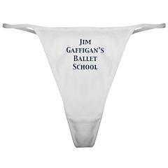 JG SCHOOL OF BALLET Classic Thong