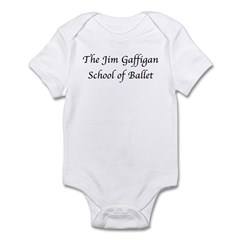 JG SCHOOL OF BALLET Infant Bodysuit