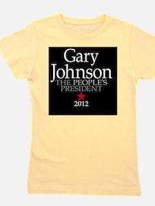 2-25x2-25_button_gary_johnson_03 Girl's Tee