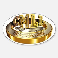CMLL gold Decal