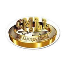 CMLL gold Wall Decal