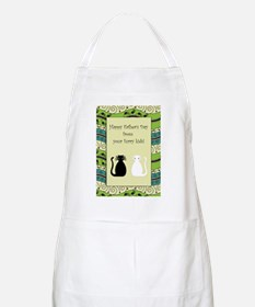 2_cats_fathers_day_card Apron